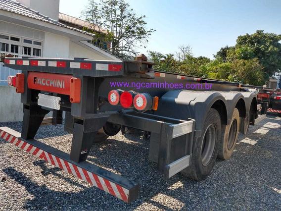 Carreta Porta Container Bugui Container Facchini 2018 S.pn
