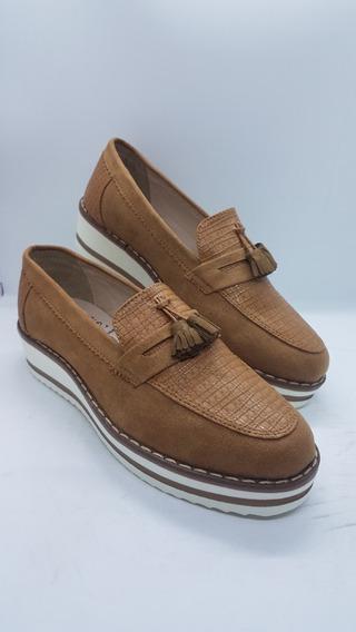 Zapatos Colombianos Para Damas Mocasines Color Colonial