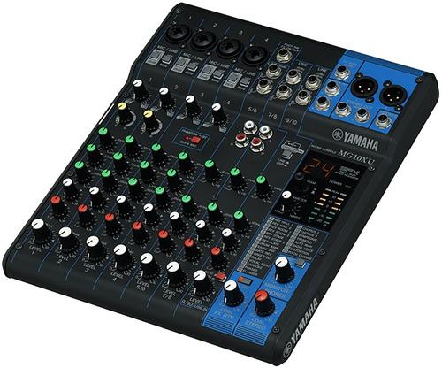 Consola Mixer Yamaha Mg10xu Usb 10 Canales Nueva Cuotas