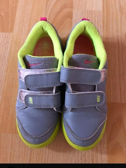 Zapatillas Nike Nena Con Abrojo Impecables!