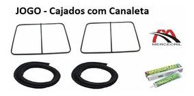 Kit Cajado Da Porta Com Canaleta Mb 608 - Armação