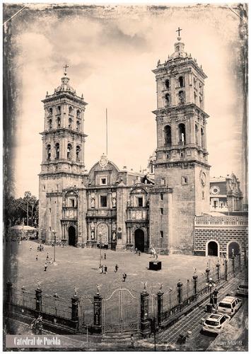 Imagen 1 de 10 de Serie De 9 Tarjetas Postales De Puebla Antigua