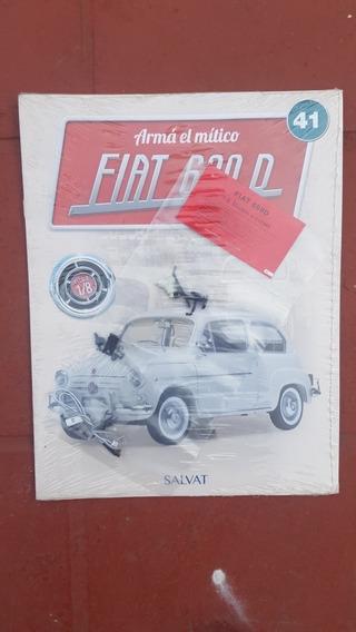 Coleccion Fiat 600 Salvat N°22,23,35,41