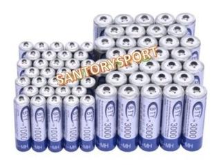 Pilas- Baterías Recargables Ni-mh (aa 3000v-aaa 1000v)1.2v