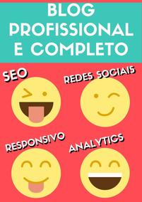 Criação De Blog Profissional E Completo - Responsivo E Seo