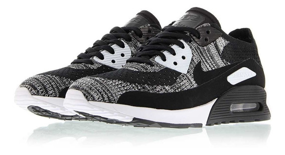 Wmns Air Max 90 Ultra 2.0 Flyknit Black & White