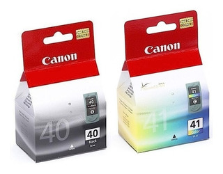 Combo Cartuchos De Tinta Canon Pg40 Y Cl41