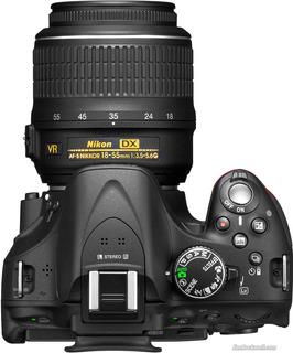 Camara Profesional Nikon D5200 L18-55mm