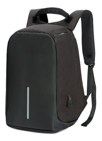 Mochila Antirobo Usb Porta Notebook Smart Impermeable 35l