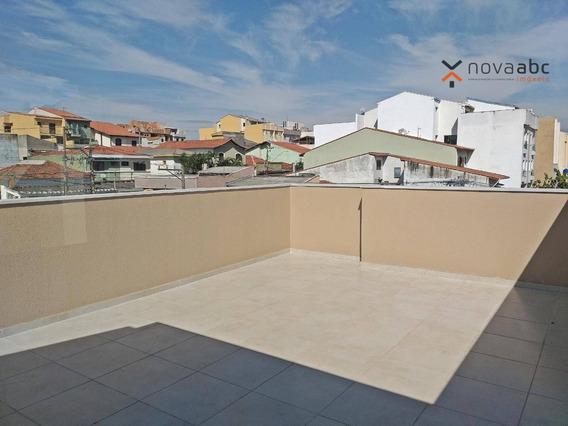 Cobertura Com 2 Dormitórios À Venda, 50 M² Por R$ 320.000 - Vila Camilópolis - Santo André/sp - Co0251