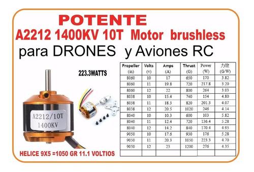 Brushless 2212  Motores