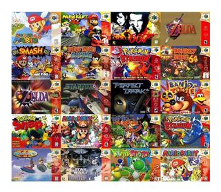 Colección N Nes Snes N64 Pc/android