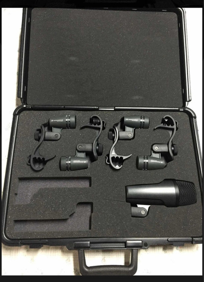 Drum Kit Microfones Bateria Sennheiser E604 E602