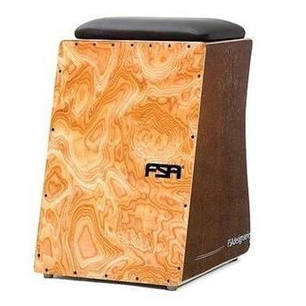 Imagem 1 de 2 de Cajon Fsa Design Fc6643 Woodburl Captação Dupla Fc 6643