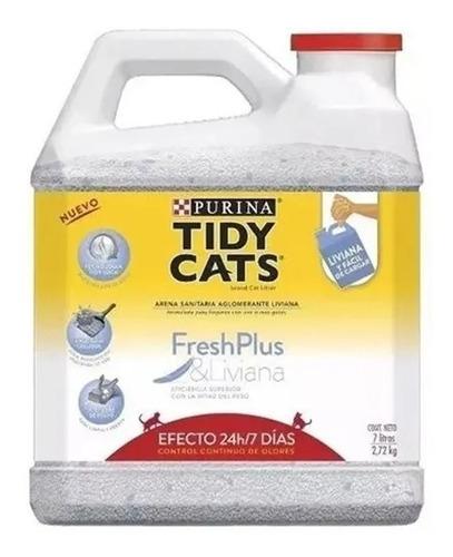 Purina Tidy Cats Arena Aglomerante Bidon Gatos 2.72 Kg