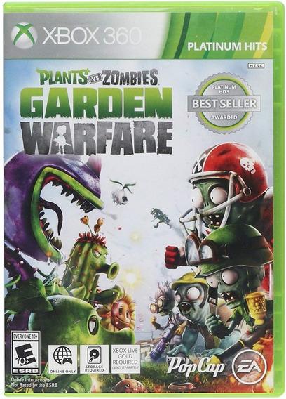 Plants Vs Zombies Garden Warfare - Xbox 360 - Midia Fisica