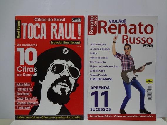 Revista Cifras Violão Raul Seixas E Renato Russo