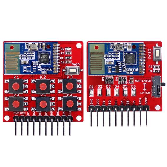 M?dulo Receptor 6 Canais 2,4g Wireless Kit Remoto