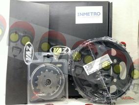 Kit Relação Cb300r Cb 300 (09-17) Vaz Black 03971 C Retentor