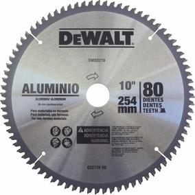 Disco De Serra Widea 80 Dentes Aluminio Dewalt Dwa03210
