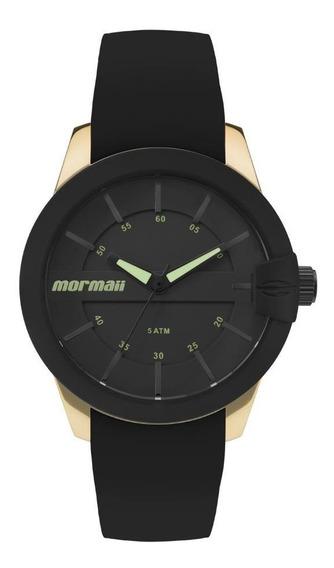 Relógio Mormaii Feminino Ref: Mo2036in/8p Esportivo Dourado