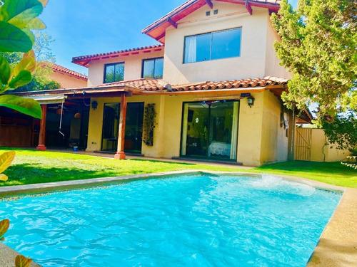Imagen 1 de 10 de Vende Casa En Condominio Valle La Dehesa