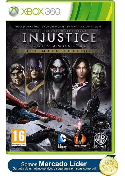Injustice God Among Us Ultimate Edition Xbox 360 E Xbox One