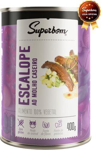 Escalope Vegano 400g - Superbom