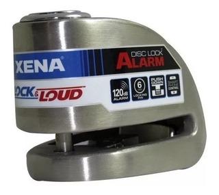 Xena Xx6 Ble. Candado C/alarma Bluetooth 120 Db Para Motos