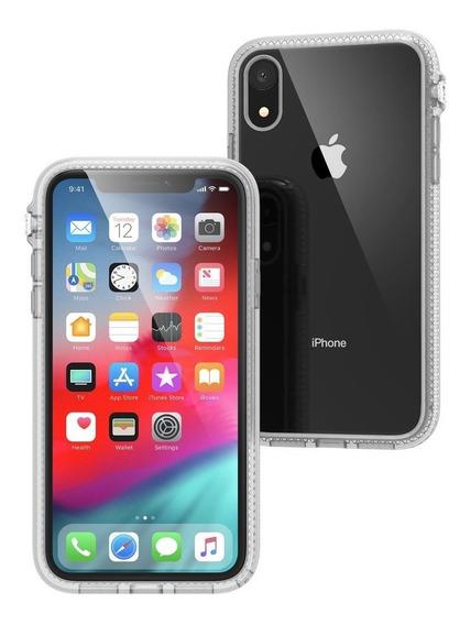 Protector Carcasa iPhone Xr Catalyst Impact Case Black/clear
