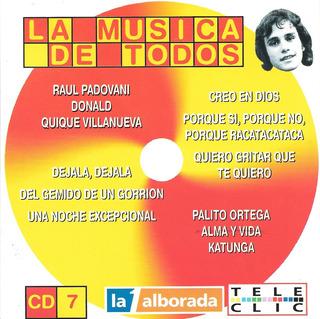 La Musica De Todos Cd 7 - Grandes Exitos Bailables De Los 70