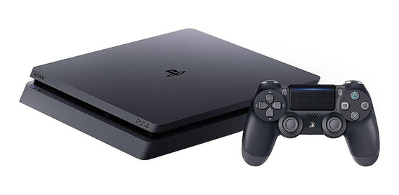 Sony PlayStation 4 Slim 1TB Standard jet black