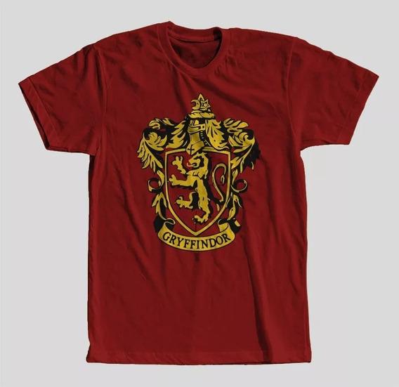 Camisa Camiseta Harry Potter Grifinória Unissex