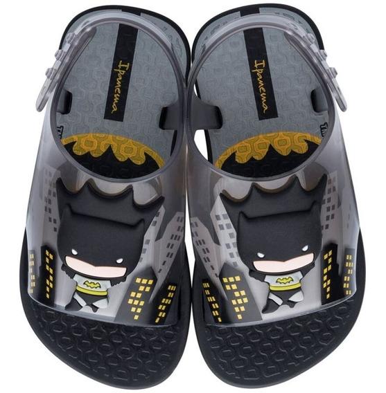 Sandália Infantil Masculino Ipanema Batman