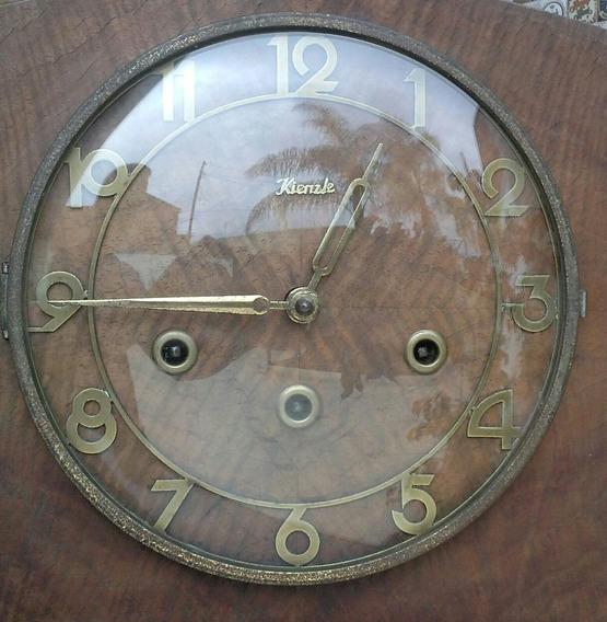Relógio Antigo Alemão Carrilhão Kienzle De Mesa