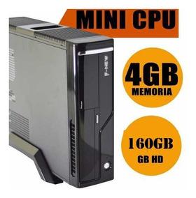 Computador Cpu Mini Slim Desktop 4gb/160gb/wi-fi Barato Hdmi