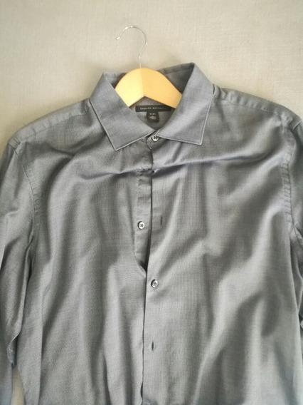 Camisa Banana Republic Br De Vestir Talla L 10p% Original