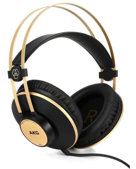 Fone Ouvido Akg Over Ear K92 Profissional Original ** Djfast