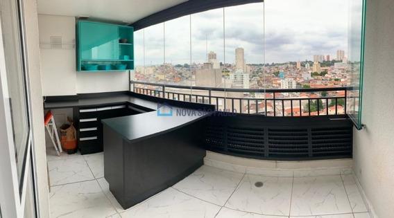 Apartamento 2 Dormitórios Sacomã Próx. Rua Alencar Araripe, Mobiliado, Varanda Grande, Vaga, Lazer - Bi26754