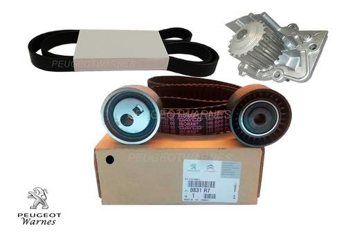 Distribucion + Poly V + Bomba Dolz Peugeot 207 Compact 1.9 D