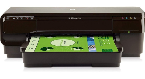 Impressora Hp 7110 A3 + Bulk + 1 Lt Tinta Arroz + Cabo Usb