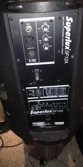 Caixa Ativa 400 Watts Superlux Sf-12-a (220ac) Nf E Garantia