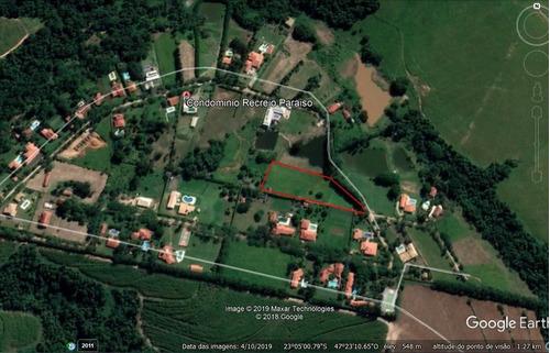 Chácara À Venda, 7800 M² Por R$ 270.000,00 - Recreio Paraíso - Elias Fausto/sp - Ch0035