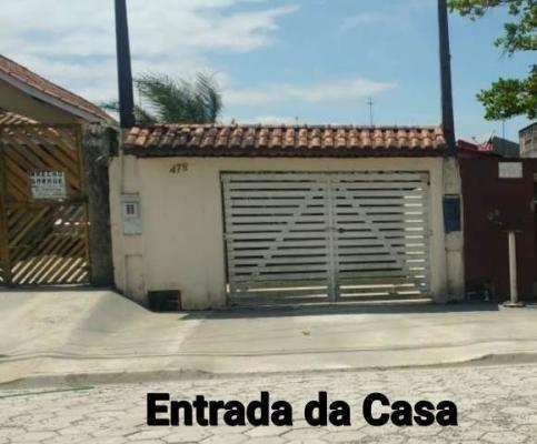 Imagem 1 de 10 de Casa À Venda No Balneário Gaivota - Itanhaém 7446 | Sanm