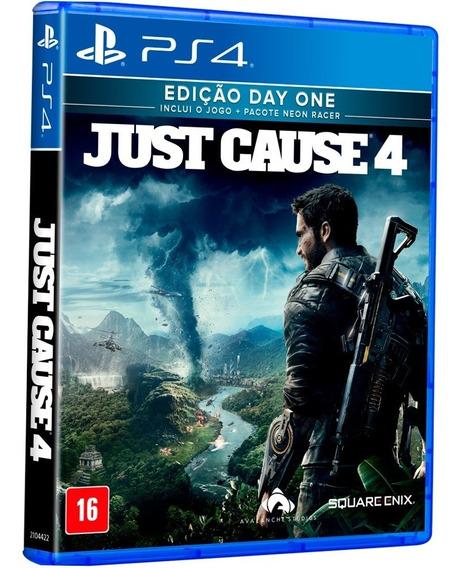 Jogo Just Cause 4 Ps4 Midia Fisica Cd Original Português Br