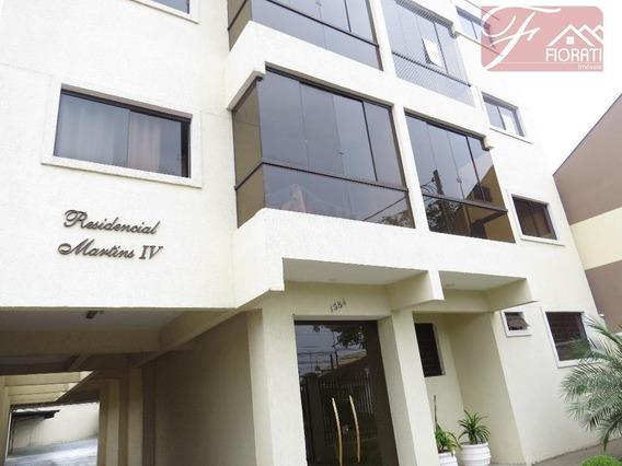 Apartamento Residencial Para Locação, Carioca, São José Dos Pinhais. - Ap0809