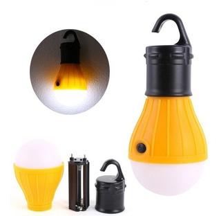 Lâmpada Led Camping Barraca Pesca Lanterna Amarelo