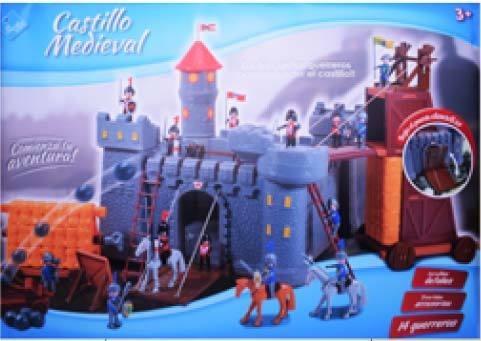 Castillo Medieval Playset 6448 Fibro