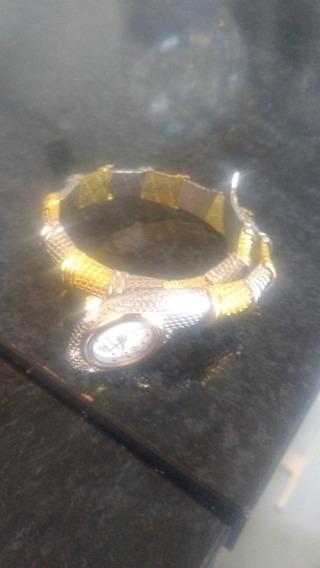 Relógio Quartz Feminino Ofertas Joia Bracelete .