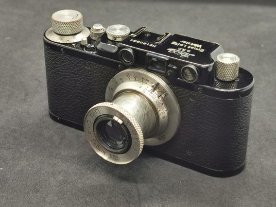 Leica Iid Preta E Nickel - 1936 Raríssima E Impecável